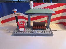 Lego Harry Potter HOGWARTS EXPRESS HOGSMEADE TRAIN STATION ONLY FROM SET 4758