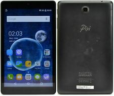 Alcatel Pixi 3 8-inch WiFi + 4G/LTE Unlocked Cheap Compact Android Tablet Black