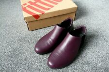NEW Fitflop Superchelsea Slip-Ons Boots/Shoes UK Size 8 In Plum Colour Cost £100