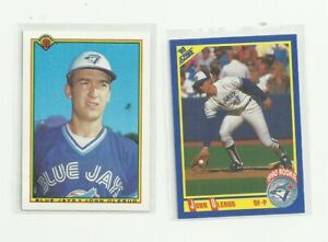 John Olerud 2 Rookie Baseball Card Lot - Score & Bowman