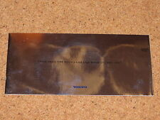 VOLVO S40 & V40 brochure di vendita con finitura a specchio copertura c1995-96