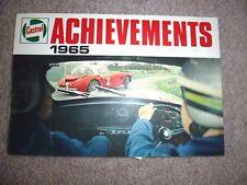 CASTROL conquiste 1965. RALLY, Motocross, Le Mans, inserti PLUS TT ECC.