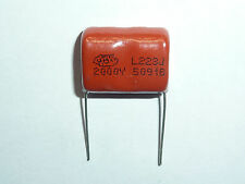 10pcs 2000V 183 J 0.018uf 18nf 18000pf P20 CBB81 CBB metal film capacitor