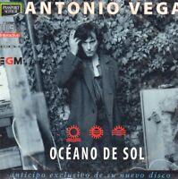 Antonio Vega OCEANO DE SOL CD Single NACHA POP