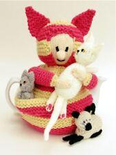 MAD CAT LADY Copriteiera Knitting Pattern a maglia il tuo MAD CAT WOMAN Copriteiera