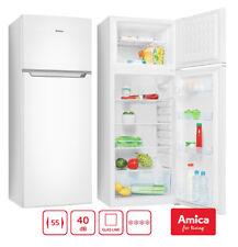 Kühl-Gefrierkombination Weiß 206L A+ 144cm automat. Abtauen Kühlschrank