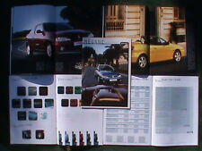 CATALOGUE MEGANE 1 Phase 2 COUPE CABRIOLET 16V iDE DCi DTi 1999-2002 1/18 1/43