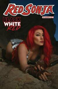 RED SONJA BLACK WHITE RED #3 COVER D COSPLAY - DYNAMITE 2021 Comics