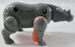 McDonald's Littlest Pet Shop/Transformers Beast Wars I HM - Rhino - OOP - 1996