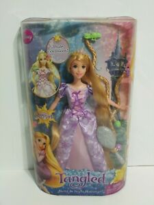 Disney Princess - Tangled Bend and Style Rapunzel Mattel Doll Long Hair Clips
