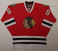 CCM REEBOK Chicago Blackhawks Patrick Kane #88 NHL JERSEY STITCHED SiZE ADULT XL