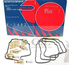 HONDA CBR600 CBR600F HURRICANE CARB REBUILD REPAIR KIT 1987 - 1990 FIXS ALL 4