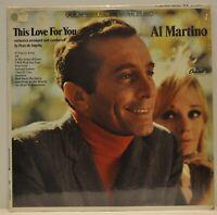 """This Love for You"" Al Martino 1967 (Capitol T 2654) Vinyl LP"