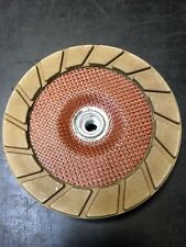 "Sase 7"" Fine Quikcut Edge Wheel 3 Step Polish Concrete Edge Diamond Cup Wheel"