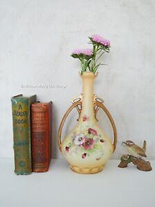 Antique Porcelain Urn Vase, Alexandra Porcelain Works Turin Austria Circa 1890