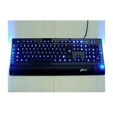 Logisys KB208BK USB/PS2 Blue/Red Illuminated keyboard