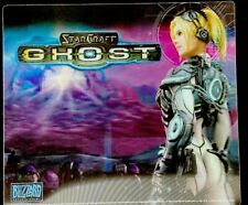 RARE NEW Starcraft Ghost Mouse Pad BLIZZCON 2005 Lenticular Hologram Blizzard