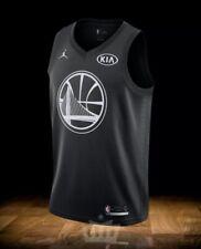 Nike 2018 NBA All-star Game Stephen Curry Swingman Black Jersey Men Size L