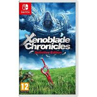 Xenoblade Chronicles: Definitive Edition - Nintendo Switch - Import Region Free