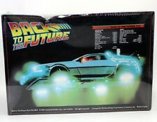 Back to the Future 2 II 3 III 1989 DeLorean Car IMAX Model Kit Movie Film Vtg !!