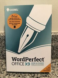 Corel Word Perfect Office X9 Home & Student