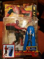 Spider-Man 2 Rapid Punch Figure Marvel With Punching Bag open box