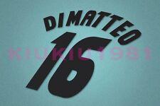 Chelsea Di Matteo #16 1997-1999 Awaykit Nameset Printing