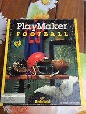 Apple Macintosh 512/plus/SE Software Broderbund Play Maker Football Originale