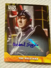 Doctor Who Signature autograph auto card MICHAEL JAYSTON YELLOW #11/25