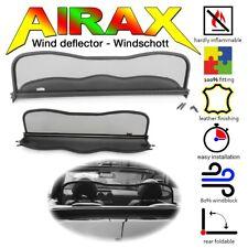 AIRAX Windschott für Mitsubishi Colt CZC Bj.2006 - 2009 mit Schnellverschluss