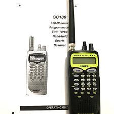 Uniden SC180 Sportcat Programmable Scanner EMS Fire Weather Police HAM Radio