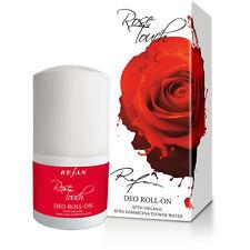 Deodorante roll on Rose Touch,con acqua di rosa damascena organica,50ml