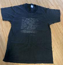 Vintage 90s Kurt Cobain Death Certificate T Shirt Large/XL Official Nirvana Rare