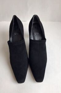 Stuart Weitzman Womens Shoes Black Formal Work Sz 8 Made In Spain