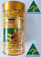 ROYAL JELLY 1450mg 365 soft gel capsules 100% Natural Made in Australia COSTAR