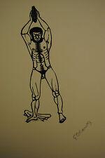 Gerhard Marks – Homer, Odyssee – Epreuve d'Artiste - 1976 – Mit 119 Holzschnitte