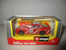 PORSCHE 924 TURBO COD.4103 BURAGO SCALA 1:43