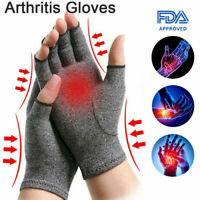 Compression Gloves Brace Support Arthritis Carpal Tunnel Hand Tendon Wrist Pain