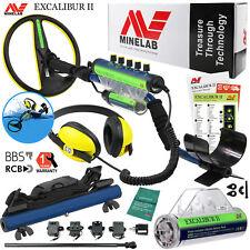 Minelab Excalibur II 1000 Underwater Detector, Alkaline Battery Pack & Hipmount