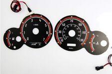 Peugeot 206 design 1 glow gauge plasma dials tachoscheibe glow shift indicators