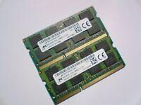 16GB 2x 8GB DDR3L-1600 PC3L-12800 1600Mhz MICRON MT16KTF1G64HZ-1G6E1 RAM MEMORY