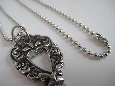 Collar De Clave-con Diseño de corazón