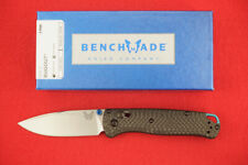 BENCHMADE 535-3 BUGOUT CPM-S90V CARBON FIBER HANDLE AXIS LOCK KNIFE
