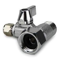 More details for aqualogis lever operated tee with isolating valve 3/8