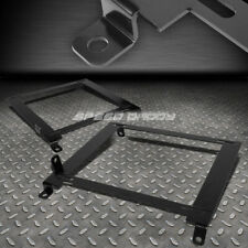 FOR 01-05 HONDA CIVIC EM/ES LOW MOUNT RACING BUCKET SEAT TENSILE STEEL BRACKET