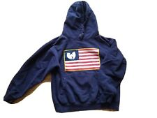 THE WU-TANG Brand Limited O.G Pullover HOODIE FLAG Protect Ya Neck MEDIUM