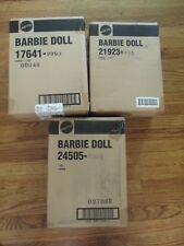 Lot of 3 Billions of Dreams Barbie 1995 LEd &CRYSTAL JUBILEE & MILLENNIUM BRIDE