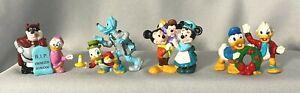 Vintage Disney Mickey's Christmas Carol Scrooge Pete PVC Figurine Cake Topper