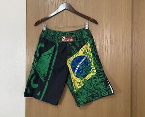 Bad Boy Pro Series Capo Brazil Fight Shorts Men Size 28 XS MMA UFC Training