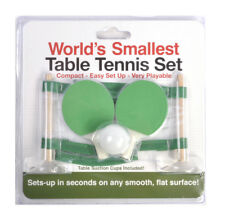 Worlds Smallest Table Tennis Set